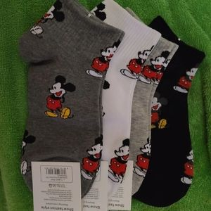 New mickey mouse socks